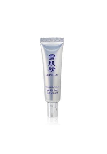 Kosé KOSÉ - Sekkisei Supreme Whitening Eye Cream 20ml/0.7oz C2B0BBE4AF82A1GS_1