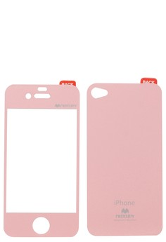Color Mirror Film iPhone 4/4S [Pink]