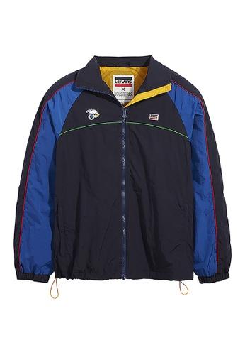Levi's blue Levi's x Peanuts Colorblock Track Jacket 83712-0001 95E74AA7D6F7D3GS_1