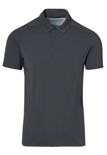 Porsche Design grey Porsche Design x PUMA Grey Men's Polo Asphalt Active Polo for Men 26F25AAB235179GS_1