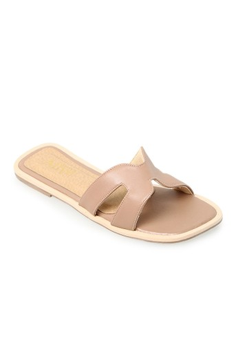 Alivelovearts Hers Nude Sandals