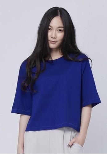 純棉高esprit outlet 香港磅上衣, 服飾, T恤