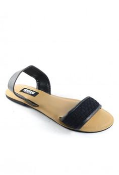 Habi Footwear Luxe Women's Joy Sandals - Black
