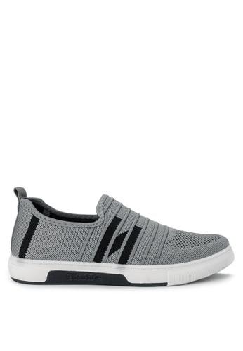 Declan grey Declan Kaley Slip On Sneakers E75D4SH4A1A636GS_1