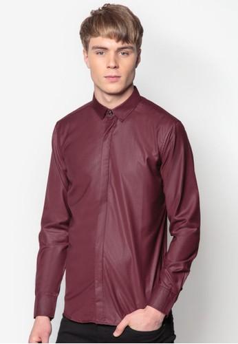 基esprit 童裝本款長袖襯衫, 服飾, 素色襯衫