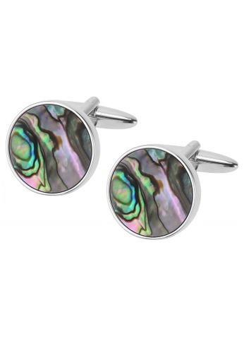 CUFF IT multi Abalone Shell Round Cufflinks 269ACAC26E6446GS_1