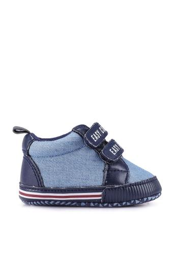 FOX Kids & Baby blue Baby Girl Velcro Sneakers 31DFEKS0A99526GS_1