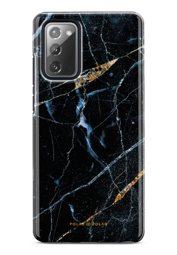 Polar Polar black Midnight Marble Dual-Layer Tough Case Glossy For Samsung Galaxy Note20 5G C292DAC787D12BGS_1