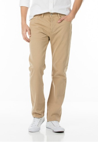 Levi's 501 Original Fit Trousers - Covert Khaki