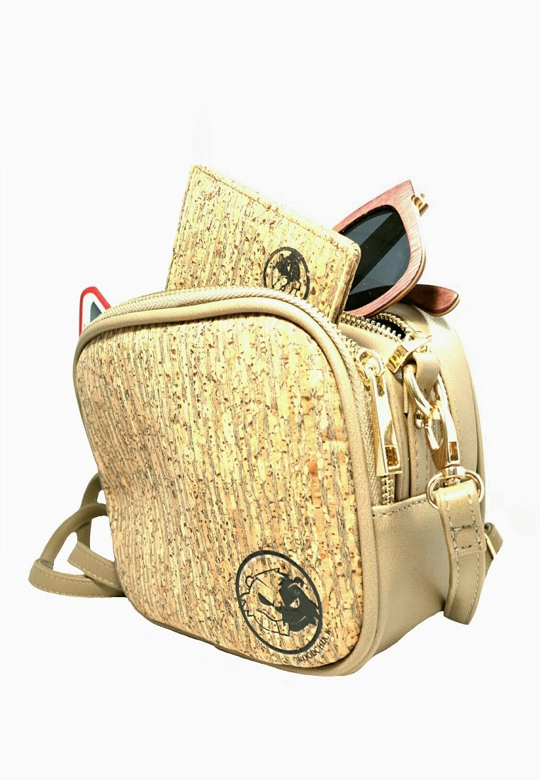 Dodger Blue Cork Bag