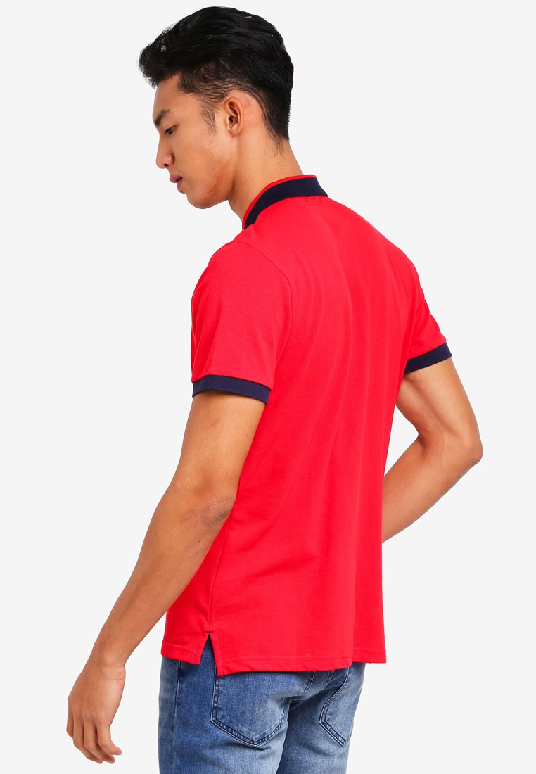 Shirt Red amp; Embroidered Marc Polo Giselle 8SZHHqOw