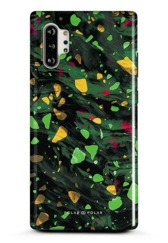 Polar Polar green Malachite Terrazzo Gem Dual-Layer Tough Case Glossy For Samsung Galaxy Note10 Plus 93395AC016AD7EGS_1