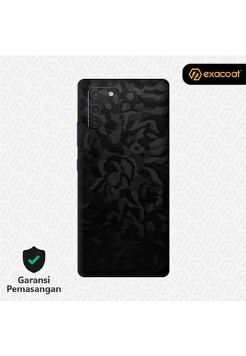 Exacoat Galaxy S10 Lite 3M Skins Camo Series - Black Camo 97849ESCCAF4DAGS_1