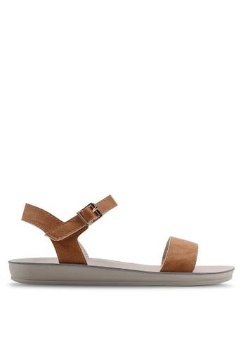 Noveni brown Slingback Sandals 73C57SH0A617ABGS_1