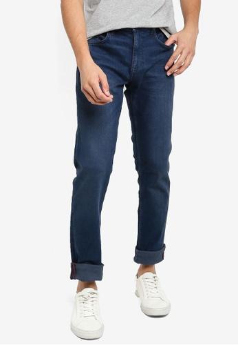 BLEND blue Twister Slim Fit Regular Waist Jeans DF1A7AA3D8B890GS_1