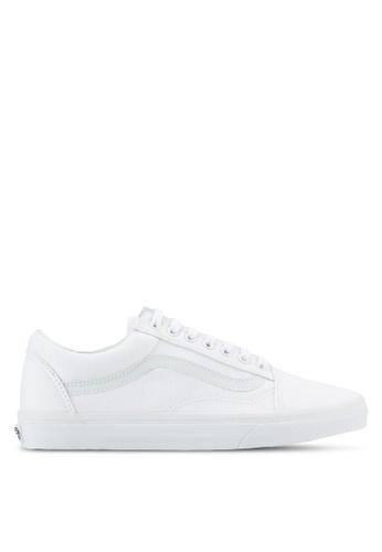 VANS white Core Classic Old Skool Sneakers VA142SH45MQKMY_1