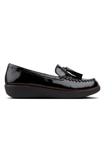 e3e648d3041 FitFlop black Fitflop Petrina Moccasin (Formerly Known As Paige Moccasin)  (Black) AE6FFSHE2A808DGS 1