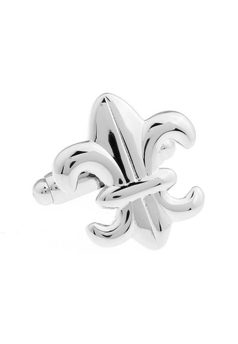 The Little Link Cufflinks silver Fleur-de-lis cufflinks TH089AC0G4XISG_1