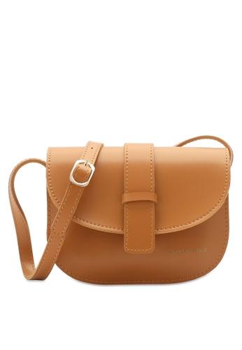 PLAYBOY BUNNY orange Seam Sling Bag 6DE17AC386DABEGS_1