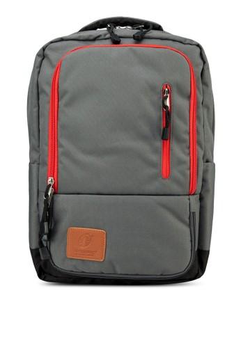 Alpinepacesprit outlet台北 軟襯背墊旅行後背包, 包, 電腦包