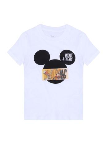 FOX Kids & Baby white Mickey & Friends T-Shirt 20B80KAC8139C9GS_1