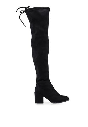 cc5ab133564c Shop Twenty Eight Shoes Skinny Over Knee Heel Long Boots Online on ZALORA  Philippines