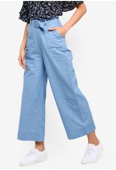 5415909d991 ZALORA blue Paperbag Jeans B485AAA752761FGS 1