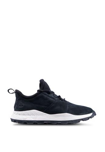 Timberland black Brooklyn Lace Oxford Sneakers 87EEESHC339A9EGS_1