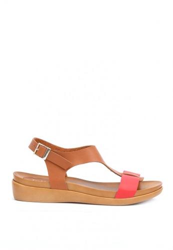 Ohrelle brown Ohrelle Dally T-Strap Flip Flops 53706SH36925C4GS_1