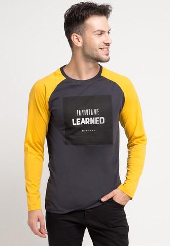 MOUTLEY yellow Tshirt 4711 MO264AA0V6C3ID_1