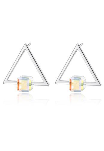 SUNRAIS silver High-end Silver S925 silver fashion earrings 327B9AC958E604GS_1