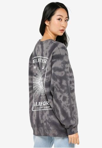Hollister black Trend Crew Neck Sweatshirt F077FAAAB0D6A6GS_1