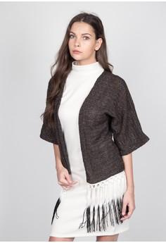 Fringed Kimono Coat