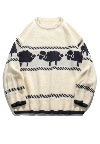 Twenty Eight Shoes Trend Sheep Cartoon Knit Sweater HH0508 CEA0CAAE71D050GS_1