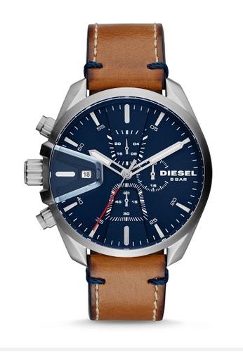 Diesel brown Diesel Ms9 Chrono Brown Watch DZ4470 6DFDFAC23F6DF8GS_1