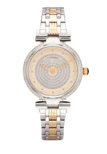 R7253579503 Ladyesprit衣服目錄 J 雙色不銹鋼圓錶, 錶類, 飾品配件