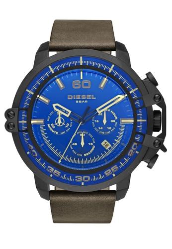 Diesel black Deadeye Chronograph Watch DI095AC0K94GPH_1
