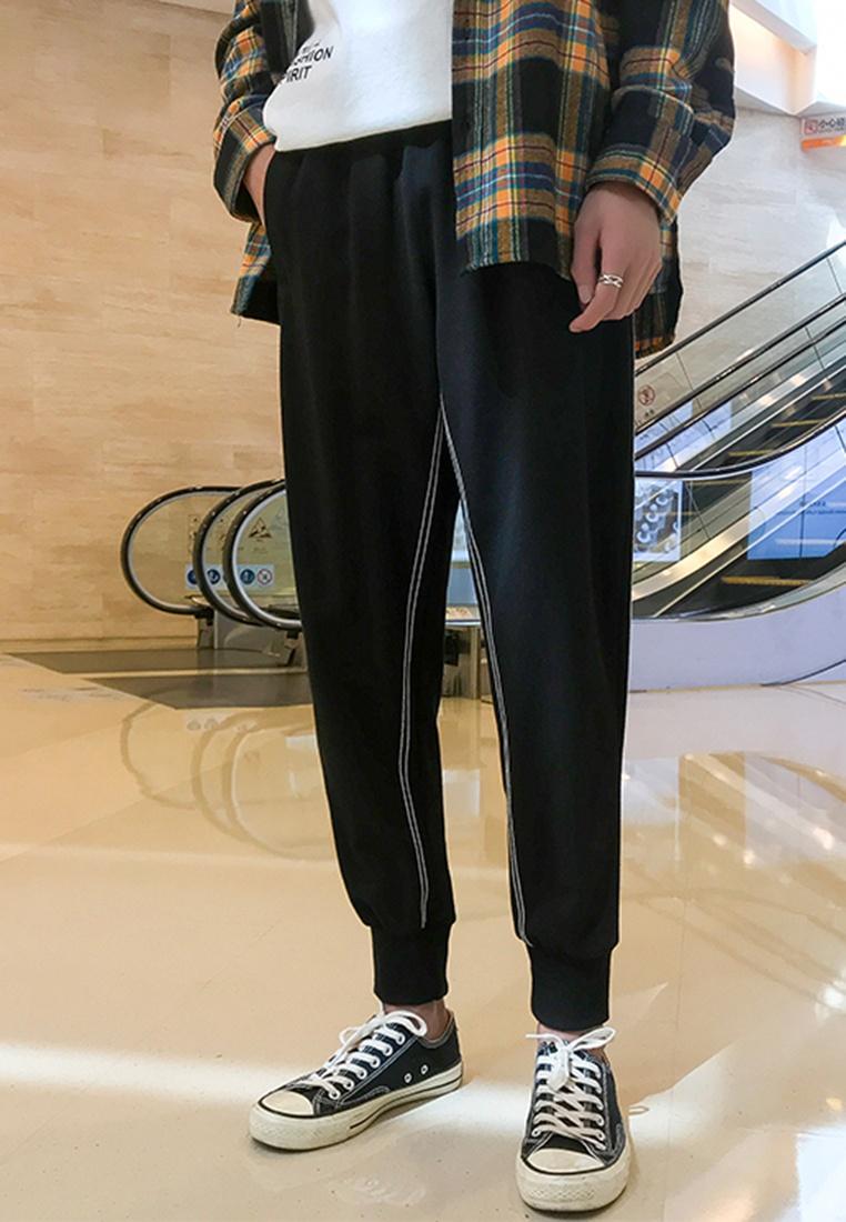 Casual hk ehunter black Men's Pants Bundle xtIzSqw5B