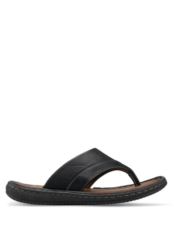 Bata black Slip On Sandals B3DA8SH039DFC4GS_1