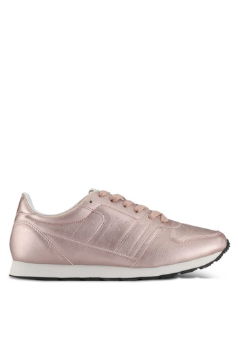 ONLY pink Silli Metallic Sneakers 1E920SHCC3F476GS_1