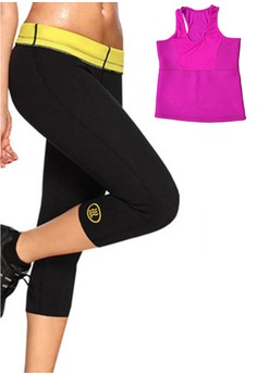 Hot Shapers Women's Pants Shapewear with FREE Hot Shapers Colors Thermal Sando