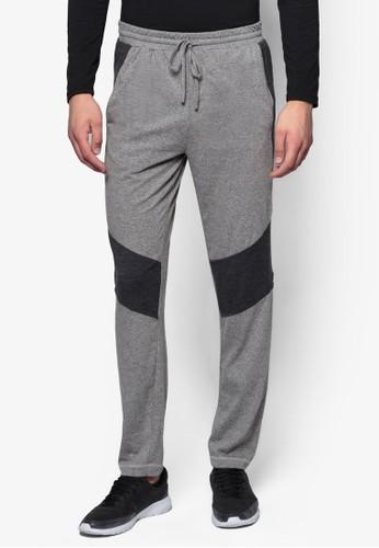 色塊束口運動長褲, 服飾,esprit門市 服裝