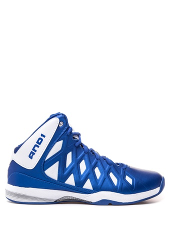 And1 blue Unbreakable Basketball Shoes AN510SH00SSDPH_1