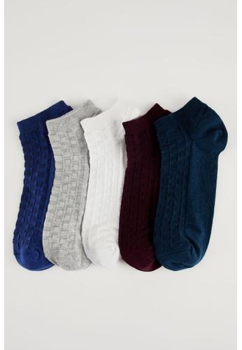 DeFacto multi Man 5-pieces Low Cut Socks 23EC8AABE11BD9GS_1