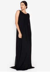 Tantease black Ynes Long Dress 8C1A4AA57EAEA9GS_1
