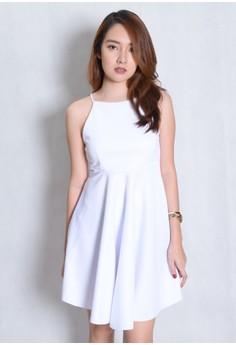 Halter Classic Neoprene Dress