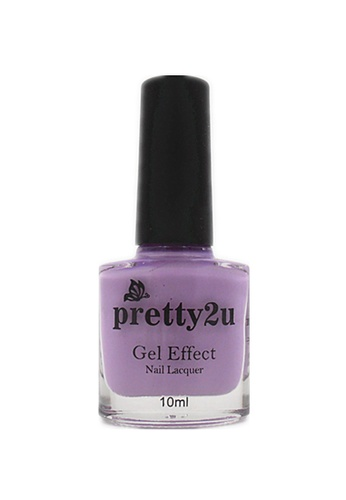 Pretty2u purple Gel Effect Nail Lacquer 17 PR716BE92WRJMY_1