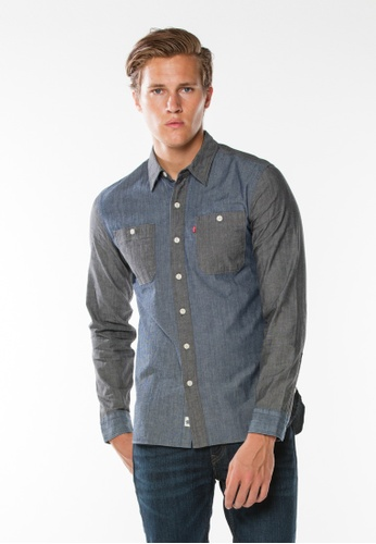 Levi's blue Stock Workshirt LE843AA0FV36SG_1