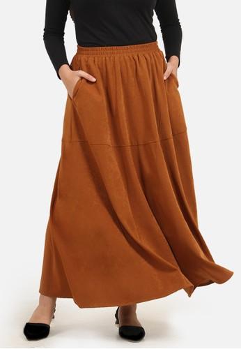QUEENSLAND brown Premium Rok Line B10199Q Coklat 3F730AA0318695GS_1