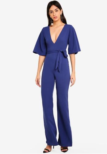 ec43aa6ca17 Buy MISSGUIDED Plunge Kimono Jumpsuit